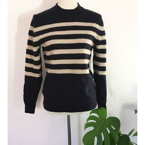 Unisex Club Monaco Striped Dexter Striped Sweater